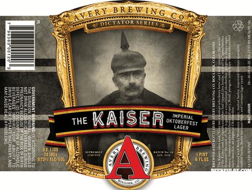 The Kaiser lager